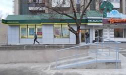 Дизайн-проект и отделка фасада отделения «ОЩАДБАНКА» в г. Черкассы по ул. Сержанта Смирнова