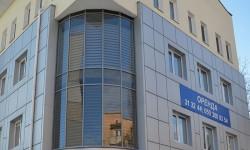 """Дизайн-проект и отделка фасада торгово-офисного центра """"Одессакабель"""" композитными материаллами с утеплением по ул.Р.Люксембург"""