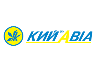 логотип Киавиа клиента компании по ремонту и строительству коммерческих помещений, банков, заводов, магазинов, частных домов и квартир в Черкассах